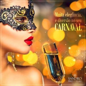 Post para Facebook Carnaval Rodrigo Coelho Vargas Designer