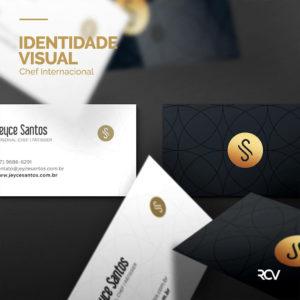 marca, logotipo, logo, identidade visual para chef internacional